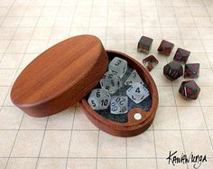 This is such a handsome dice box for D&D!