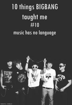BIGBANG ♡ #10 - Music has no language.