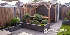 If you are looking for the best garden design, you have come to the right place. Garden Bar, Diy Garden, Dream Garden, Home And Garden, Back Gardens, Small Gardens, Outdoor Gardens, Backyard Patio Designs, Winter Garden