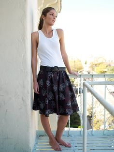 circle skirt, from Chic & Simple Sewing.