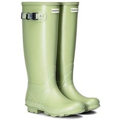 Women's Hunter Norris Field Neoprene Wellington Boots (€99) ❤ liked on Polyvore featuring shoes, boots, rugged shoes, neoprene rain boots, wellies shoes, tall boots and neoprene boots