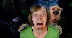 Matthew Lillard and Neil Fanning in Scooby-Doo Monsters Unleashed Shaggy Scooby Doo Movie, Shaggy And Scooby, Scooby Doo Mystery Inc, Freddie Prinze, Comedy Movies, Films, Sarah Michelle Gellar, Old Cartoons, 2 Movie