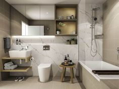 The Heysen Apartments NSW - DC8 Studio Apartments, Bathrooms, Bathtub, Interiors, Interior Design, Studio, Projects, Standing Bath, Nest Design