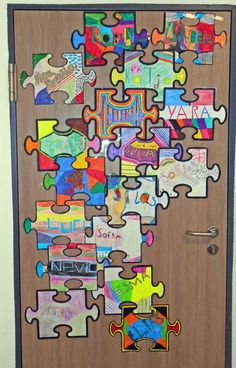 Class door school year - Decoration For Home Classroom Door Signs, School Classroom, Classroom Themes, Art Education Lessons, Art Lessons, Primary School, Elementary Schools, Tabby Kittens For Sale, Community Building Activities