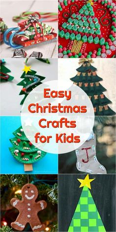 The Best Kids Christmas Crafts to DIY decorate your holiday home!