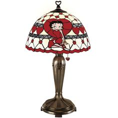 *BETTY BOOP ~ lamp - really want this! My angel touchlamp burned up in my house fire and this would help mend the hurt!