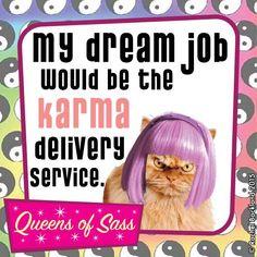 Beep beep  #QueensOfSass