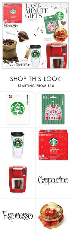 """""""#PolyPresents: Last-Minute Gifts"""" by queenvirgo ❤ liked on Polyvore featuring Keurig, contestentry and polyPresents"""