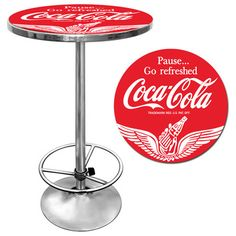 You'll love the Coca Cola Pub Table III at Wayfair - Great Deals on all Furniture  products with Free Shipping on most stuff, even the big stuff.