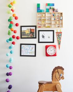 Bright Lab. Colorful strands of lights that you can customize…created by Ohhappyday Blog.