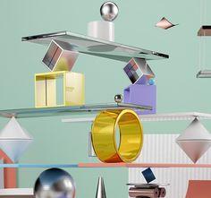 Art Of Balance - 3D Digital Art Piece on Behance