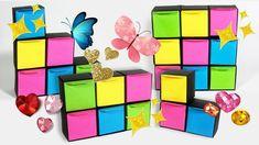 Joyero de papel modular y organizador de escritorio de origami