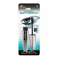 L'Oreal Paris Voluminous Butterfly Mascara--it gives GORGEOUS lashes!