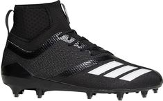 huge selection of 9cba7 305db adidas Mens adiZERO 5-Star 7.0 SK Mid Football Cleats, Size 12.0,