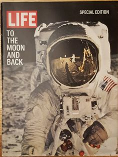 Life Magazine from August 10, 1969 : To the Moon and Back - Special Edition by CnWsTexasTreasures on Etsy