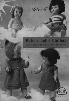 Patons. No. 585. Printed 1950, has been reprinted updated many times after. My Gran knitted them for me in early 60s.