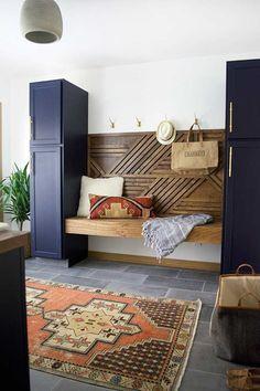Before & After: A Modern Laundry Room Makeover for an Ohioan's Childhood Home | Design*Sponge | Bloglovin'