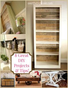 8 Great DIY Projects & Tips!