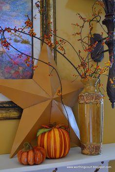 Pumpkin Craft: Decoupage With Decorative Napkins on Pumpkins - Worthing Court