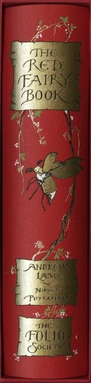 """The Red Fairy Book"" by Andrew Lang, illustrated by Niroot Puttapipat .... The Folio Society Edition"