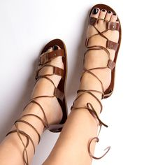 Roma Sandals Womens Brown