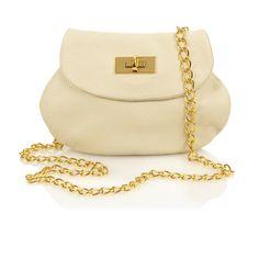 Anya Sushko White Cream Maxi Purse 2013  http://boutique.anyasushko.com/collections/purses/products/maxi-purse-with-chain-by-anya-sushko-ss13--2