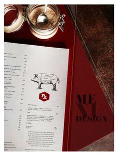 MENU DESIGN   Basque Cuisine