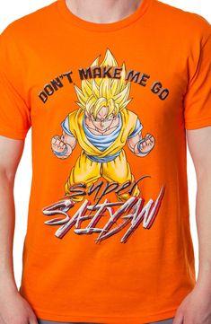 Super Saiyan Dragon Ball Z Shirt: Anime: Dragon Ball Z Shirts