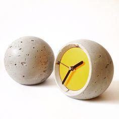 Concrete clocks. brand: Designmixrura  #concrete #cement #beton #concreteworcks #concreteclock #concreteobject #concretedesign