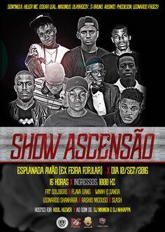 Rappers da Nova e Velha Escola Juntos no Show Ascenção em Luanda