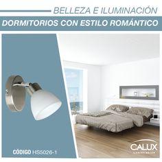 Colorido, fresco, romántico, así puede ser tu dormitorio ese espacio en el que una luz tenue te evoca relajación. #Calux #Tendencia #Iluminación #Innovación #Belleza #Espacios #Diseño #interiores #Decoración  #Contemporáneo