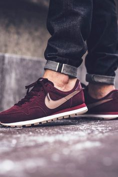 sale retailer c2e4d 3c55d The Best Men s Shoes And Footwear   ❤ ❤ ❤ Nike Air Pegasus Leather – Night  Maroon Malt available now in-store and online Titolo Shop Berne