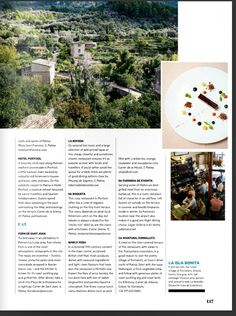 Colorful Cafe, Magazine Layout Design, Editorial Design, Marketing, Editorial Layout