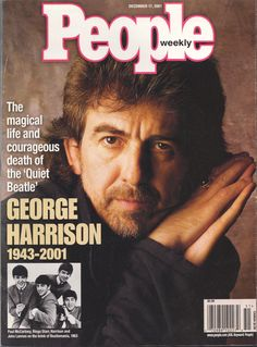 People Magazine--My son got this for me cuz he knows how much I love George. He's sweet like that...most times ;-)  {GM}