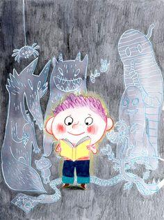 Bérengère Delaporte illustration, press, edition, children'sbook, livre jeunesse