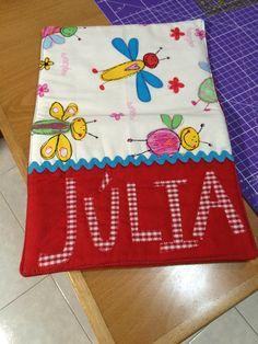 Funda de llibreta per la Júlia