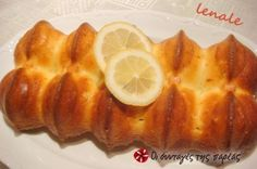 Αφράτο κέικ λεμονιού! Baked Potato, Tea Time, Cupcake Cakes, Tart, Pineapple, Deserts, Rolls, Favorite Recipes, Sweets