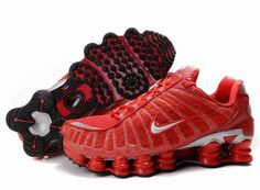 Find Women's Nike Shox TL Shoes Gym Red/Silver Lastest online or in Jordany. Shop Top Brands and the latest styles Women's Nike Shox TL Shoes Gym Red/Silver Lastest of at Jordany. Mens Nike Shox, Nike Shox For Women, Nike Women, New Jordans Shoes, New Shoes, Air Jordans, Women's Shoes, Michael Jordan Shoes, Air Jordan Shoes