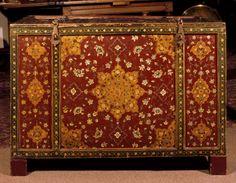 18th century indian  bridal chest (National Trust, Bateman's)
