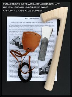 The Kestrel Adze Kits — Kestrel Tool