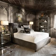 Fancy - King Bed - Devereaux Collection | Arhaus Furniture