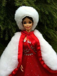 Puppenkleidung - Barbiekleid Christmas Dream Prinzessin Anastasia - ein Designerstück von kreativer-Hadasch bei DaWanda