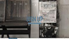 chair and newspaper slider screenshot