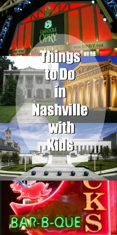Things to Do in Nashville with Kids-for when we go do our debt free scream!!!