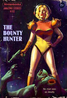 Witcher, Zelda, Metroid, BioShock, And More Games as Pulp Fiction Arte Sci Fi, Sci Fi Art, Arte Do Pulp Fiction, Pulp Fiction Book, Pulp Novel, Pulp Fiction Comics, Literary Fiction, Sci Fi Kunst, Science Fiction Kunst