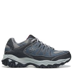 49619ee808ee Skechers Men s Energy After Burn M-Fit Memory Foam Sneakers (Navy Grey)