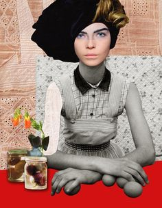 peggy wolf collage  Peggy Wolf - Fashion and Sophistication   Patternbank