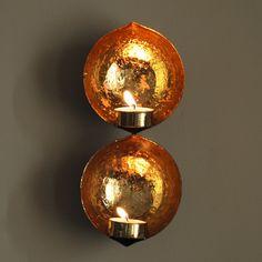 Beaten Gold Alcove Tealight (s)