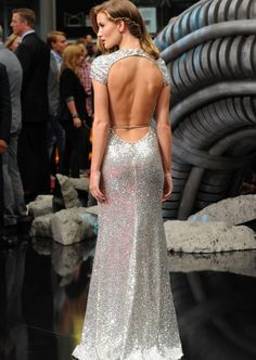 And the back of the dress...{kill them coming and going!}