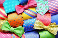 Ties that pop! Go ahead, set yourself apart from the crowd. #preppy #southern
